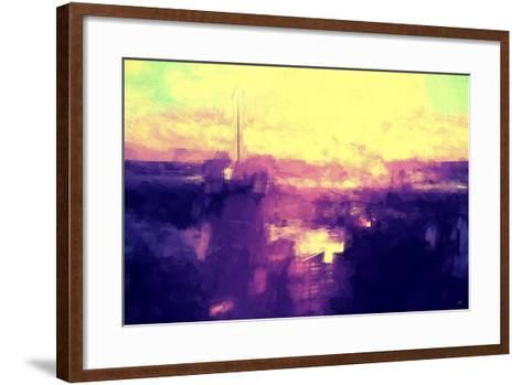 NYC Sunset Abstract II-Philippe Hugonnard-Framed Art Print