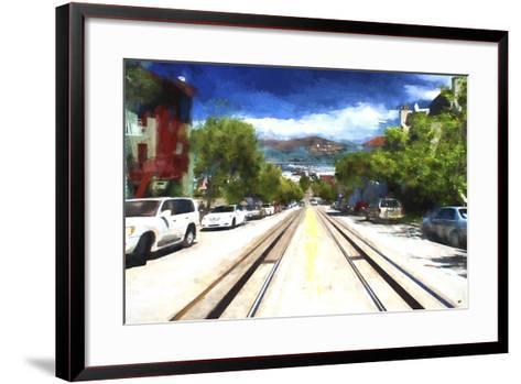 San Francisco Street II-Philippe Hugonnard-Framed Art Print
