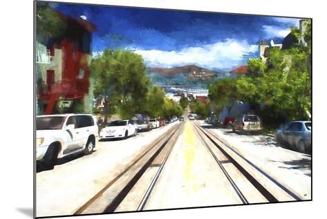 San Francisco Street II-Philippe Hugonnard-Mounted Giclee Print