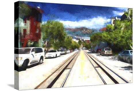 San Francisco Street II-Philippe Hugonnard-Stretched Canvas Print