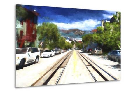 San Francisco Street II-Philippe Hugonnard-Metal Print