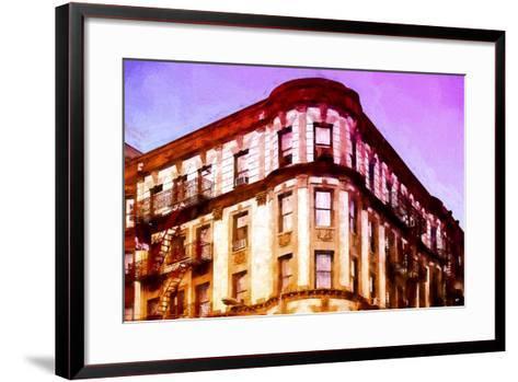 Pink Sunset-Philippe Hugonnard-Framed Art Print