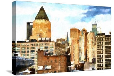 New York Architecture II-Philippe Hugonnard-Stretched Canvas Print