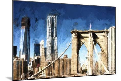 Towers City Bridge-Philippe Hugonnard-Mounted Giclee Print