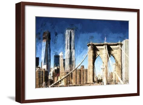 Towers City Bridge-Philippe Hugonnard-Framed Art Print