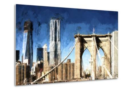 Towers City Bridge-Philippe Hugonnard-Metal Print