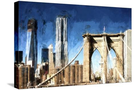 Towers City Bridge-Philippe Hugonnard-Stretched Canvas Print