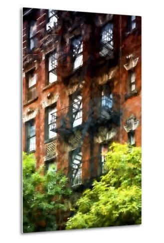 Building Stairs NYC-Philippe Hugonnard-Metal Print