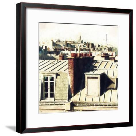 Paris Rooftops II-Philippe Hugonnard-Framed Art Print