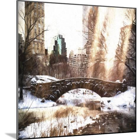 Sunlight on Central Park-Philippe Hugonnard-Mounted Giclee Print