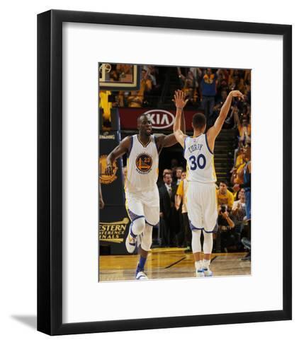 Oklahoma City Thunder v Golden State Warriors - Game One-Noah Graham-Framed Art Print
