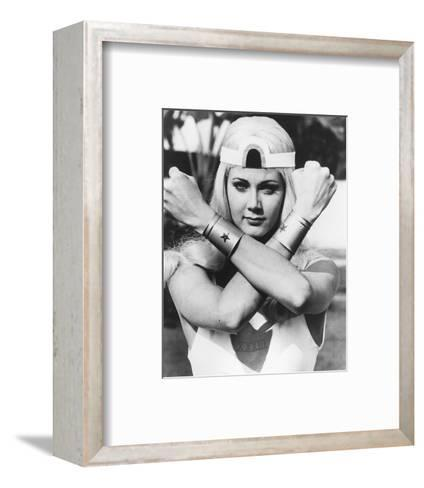 Wonder Woman--Framed Art Print