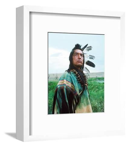 Dances with Wolves--Framed Art Print