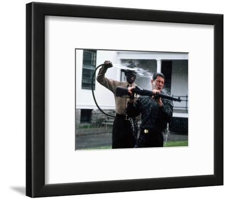An Officer and a Gentleman--Framed Art Print