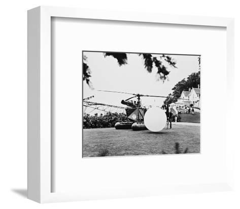 The Prisoner--Framed Art Print