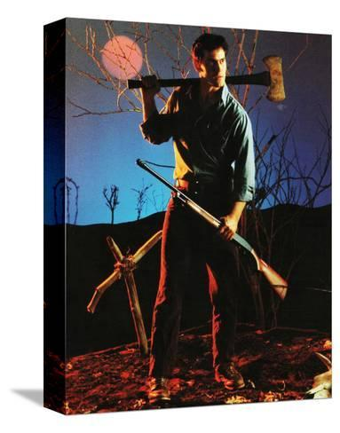 The Evil Dead--Stretched Canvas Print