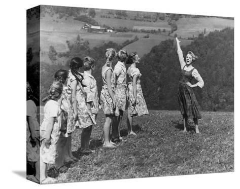 The Sound of Music--Stretched Canvas Print