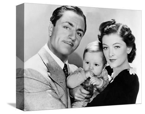 The Thin Man--Stretched Canvas Print