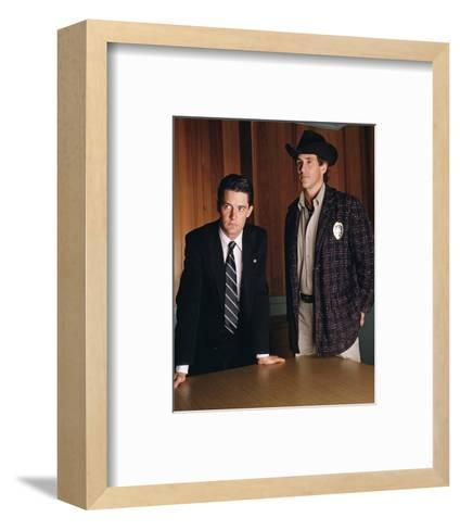 Twin Peaks--Framed Art Print