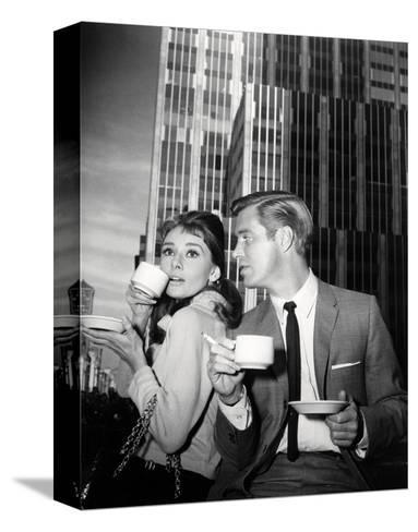 Breakfast at Tiffany's--Stretched Canvas Print
