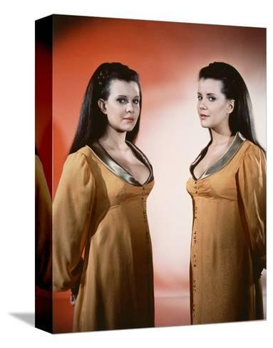 Twins of Evil--Stretched Canvas Print