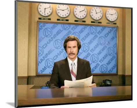 Anchorman: The Legend of Ron Burgundy--Mounted Photo