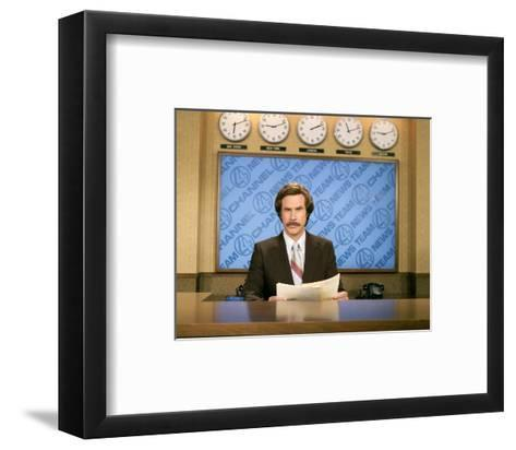 Anchorman: The Legend of Ron Burgundy--Framed Art Print