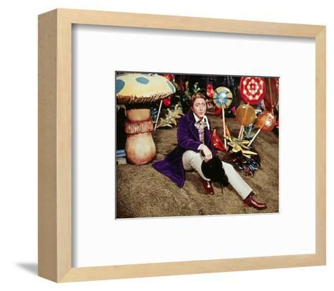 Willy Wonka & the Chocolate Factory--Framed Art Print