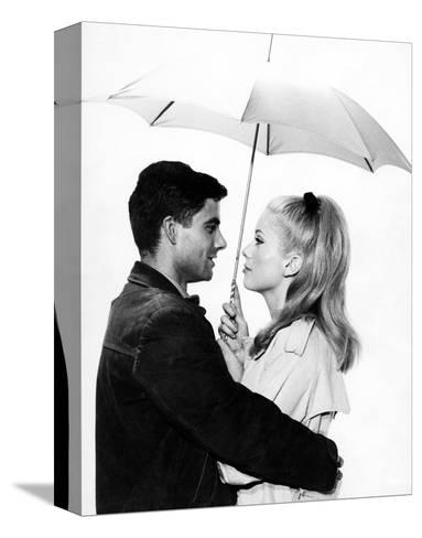 The Umbrellas of Cherbourg, 1964--Stretched Canvas Print