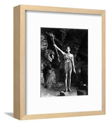 Tarzan and the Leopard Woman--Framed Art Print
