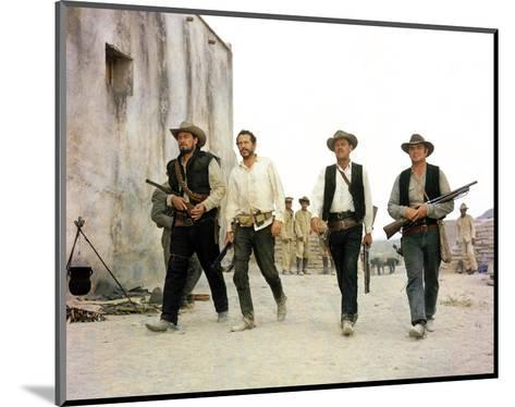 The Wild Bunch--Mounted Photo