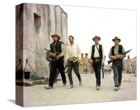 The Wild Bunch--Stretched Canvas Print