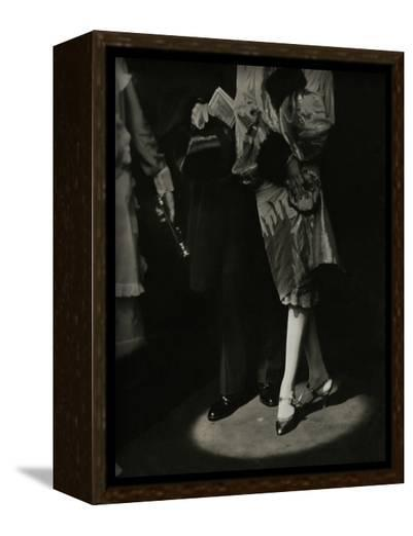 Vogue - December 1926-Edward Steichen-Framed Canvas Print