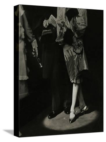 Vogue - December 1926-Edward Steichen-Stretched Canvas Print