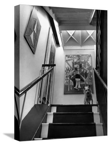 House & Garden - June 1946-Andr? Kert?sz-Stretched Canvas Print