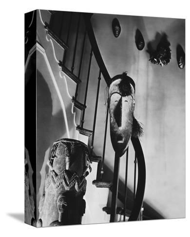 House & Garden - March 1932-Anton Bruehl-Stretched Canvas Print