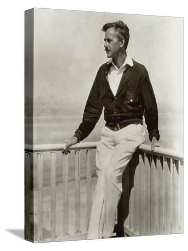 Vanity Fair - December 1923-Nickolas Muray-Stretched Canvas Print