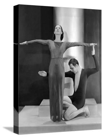 Vanity Fair - March 1930-Nickolas Muray-Stretched Canvas Print