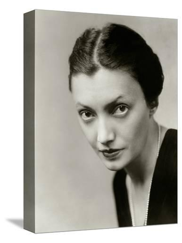 Vanity Fair - October 1931-Florence Vandamm-Stretched Canvas Print