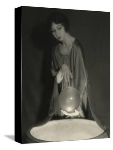 Vanity Fair - February 1921-Alexander Milne-Stretched Canvas Print