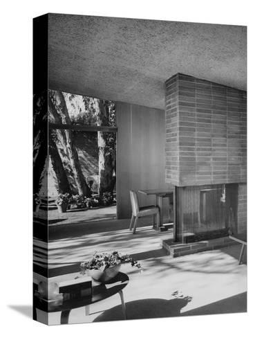 House & Garden - August 1949-Julius Shulman-Stretched Canvas Print