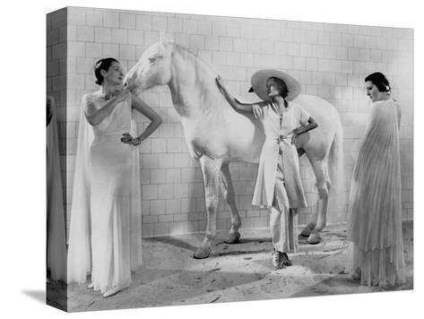 Vogue - January 1936-Edward Steichen-Stretched Canvas Print