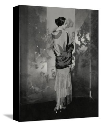Vogue - December 1924-Edward Steichen-Stretched Canvas Print