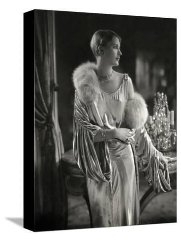 Vogue - September 1928 - Lee Miller Wears Jay Thorpe-Edward Steichen-Stretched Canvas Print