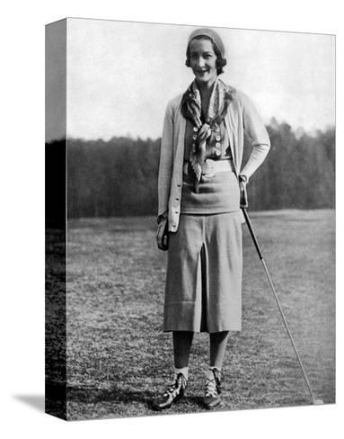 Sybil Whigham, The American Golfer, May 1931--Stretched Canvas Print