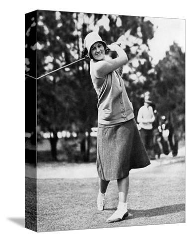 Maureen Orcutt, The American Golfer, May 1,1931--Stretched Canvas Print