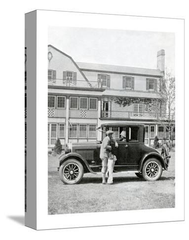 Studebaker Coupe, The American Golfer June 13, 1925--Stretched Canvas Print