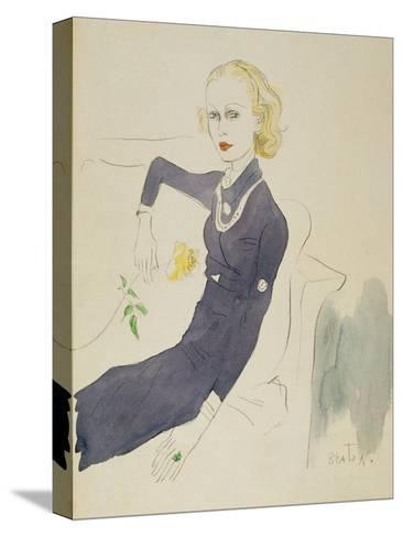 Vogue - March 1933-Cecil Beaton-Stretched Canvas Print