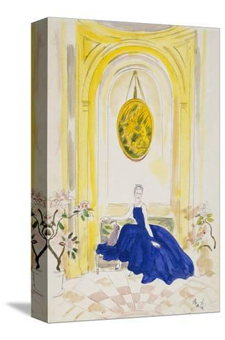 Vogue - May 1935 - Lady Mendl-Cecil Beaton-Stretched Canvas Print