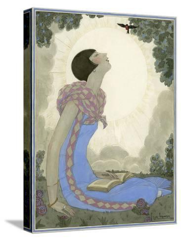 Vogue - May 1926-Georges Lepape-Stretched Canvas Print
